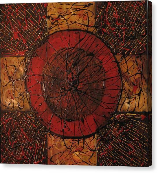 Spiritual Movement Canvas Print