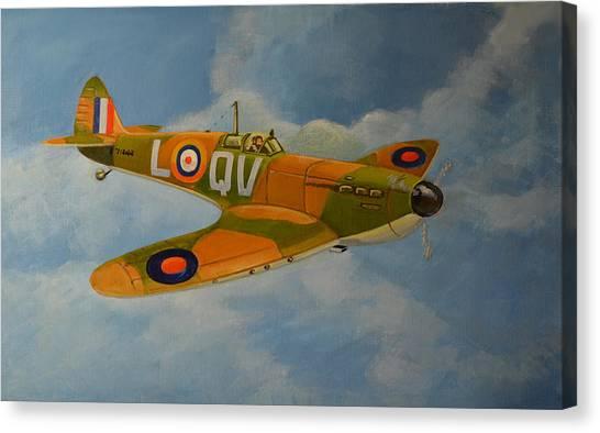 Spitfire Mk1a Canvas Print