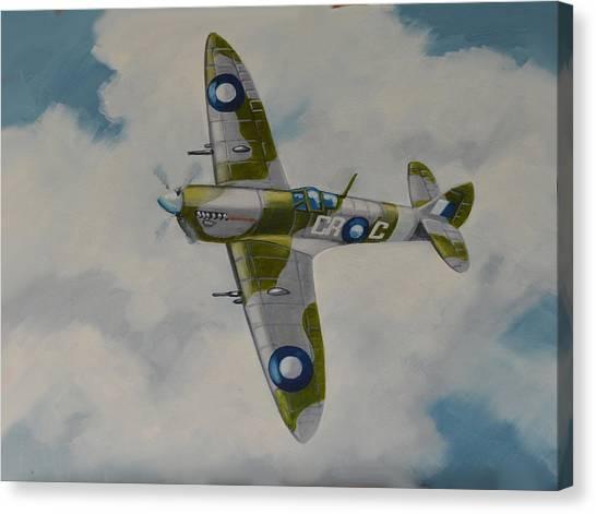 Spitfire Mk.viii Canvas Print