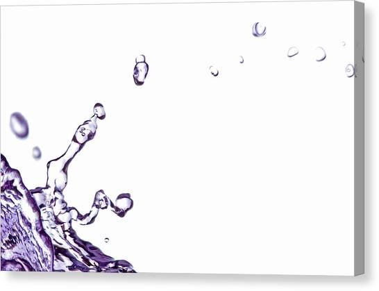 Splash 10 Canvas Print
