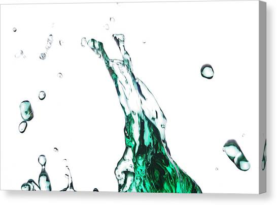 Splash 12 Canvas Print