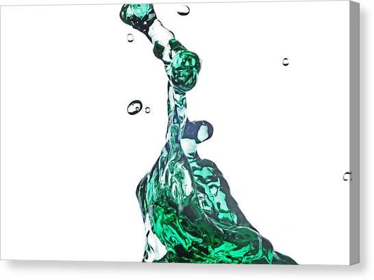 Splash 14 Canvas Print