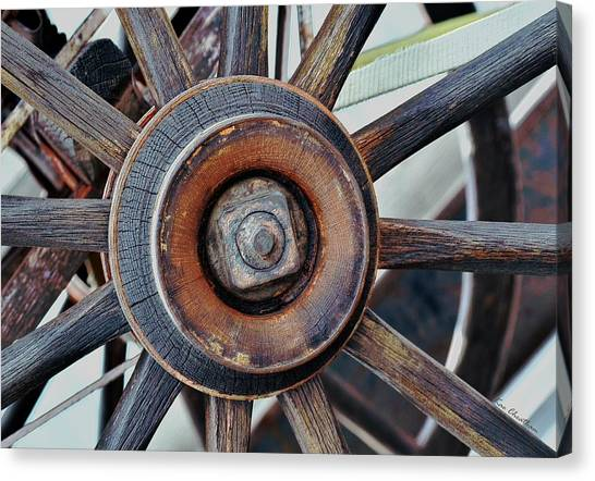 Spokes And Hub Canvas Print