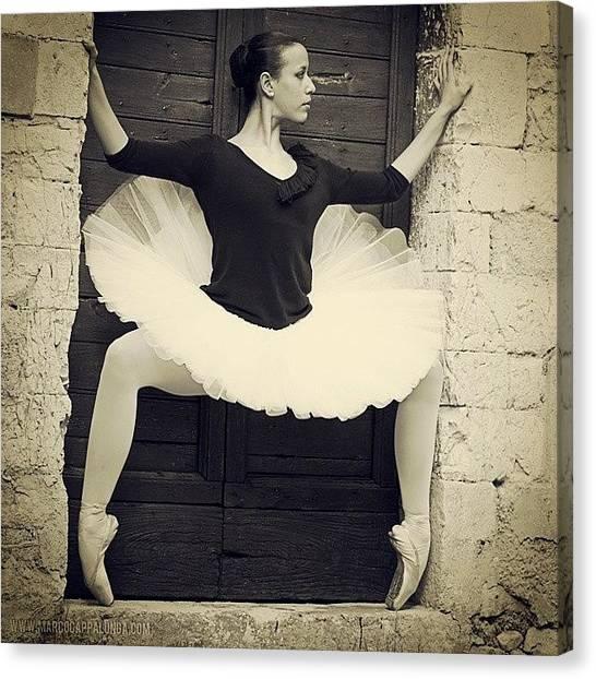 Ballerinas Canvas Print - Spoleto,italy #dance #dancer by Marco Cappalunga