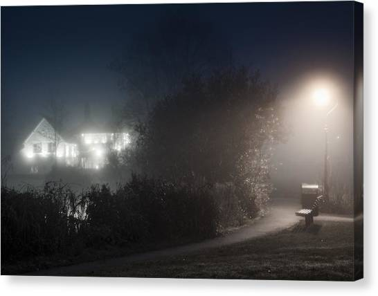 Spook Canvas Print