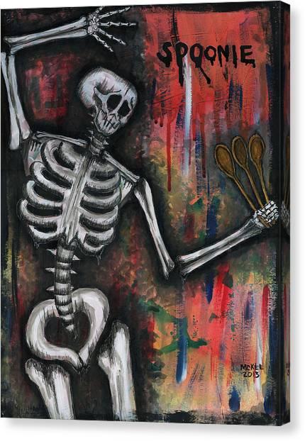 Spoonie Canvas Print by Marisol McKee