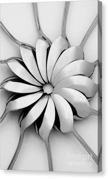 Kitchen Utensils Canvas Print - Spoons I by Natalie Kinnear
