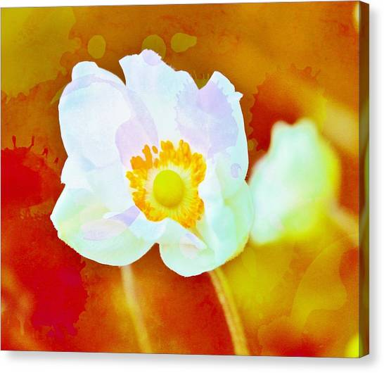 Spot Of Color Canvas Print by Cathie Tyler