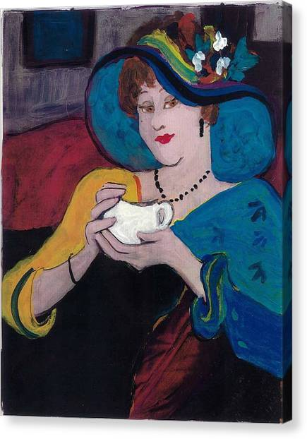 Spot Of Tea Canvas Print