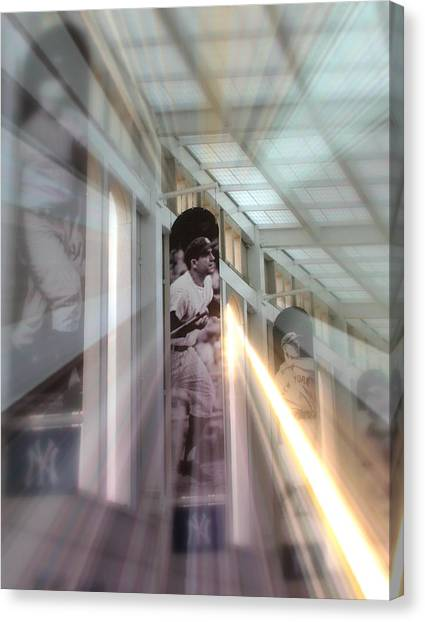 Spotlight On Yogi Canvas Print