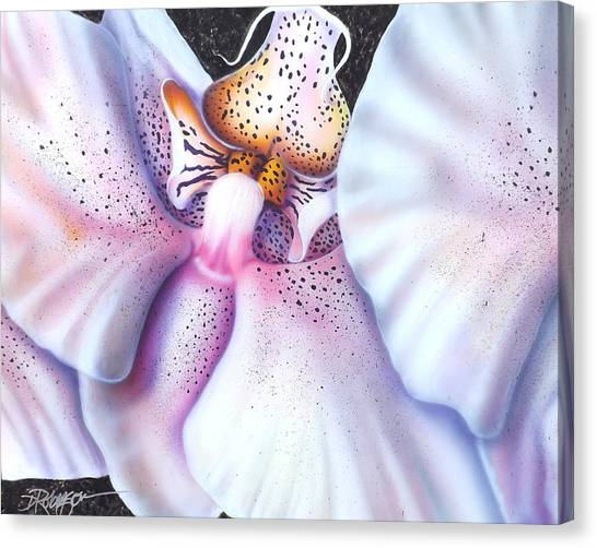 Spotted Orchid Canvas Print