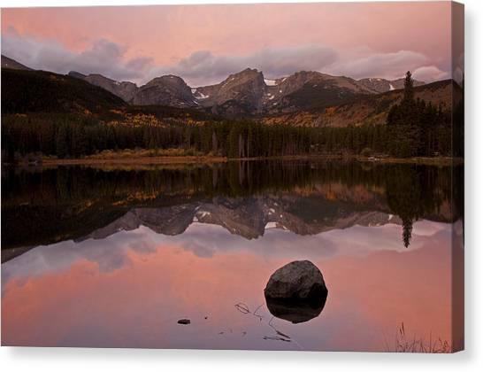 Sprague Lake Sunrise Canvas Print