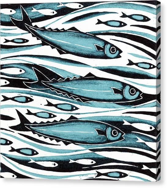 One Direction Canvas Print - Sprats by Nat Morley