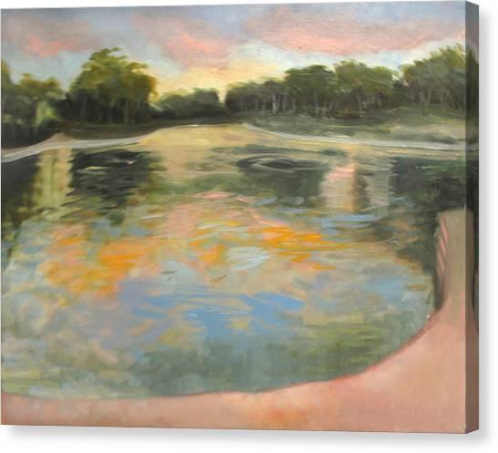 Spreckles Lake Canvas Print