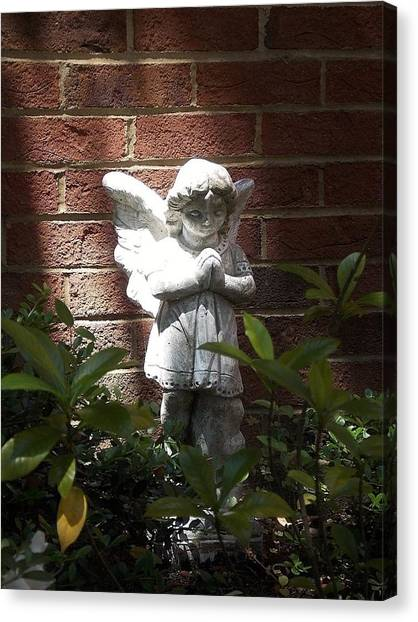 Angel Of Hope Canvas Print