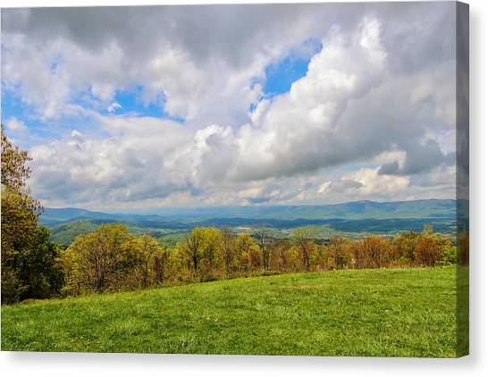 Spring Again In Shenandoah Canvas Print
