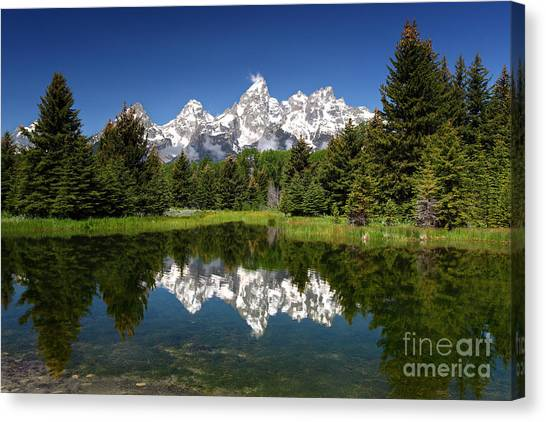 Spring At Schwabacher's Canvas Print