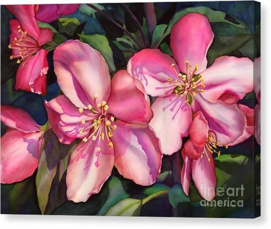 Blossom Canvas Print - Spring Blossoms by Hailey E Herrera