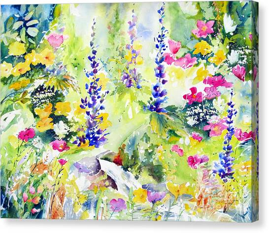 Spring Colour Canvas Print