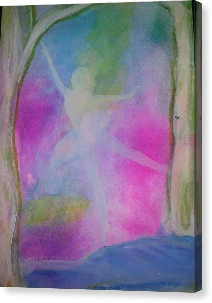 Spring Dance Canvas Print
