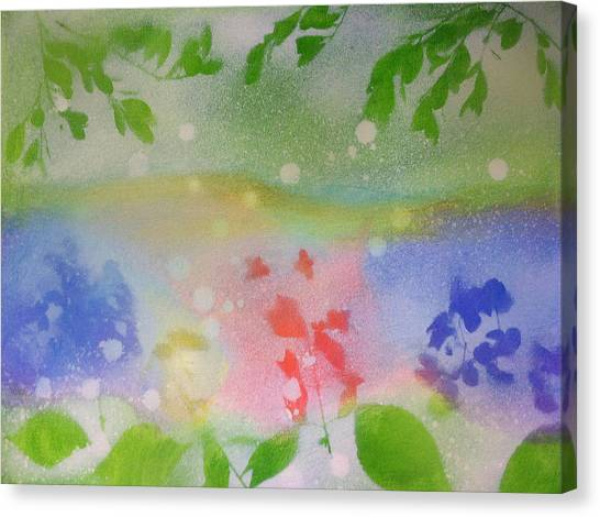 Spring Dance Canvas Print by Michelle Hoshino