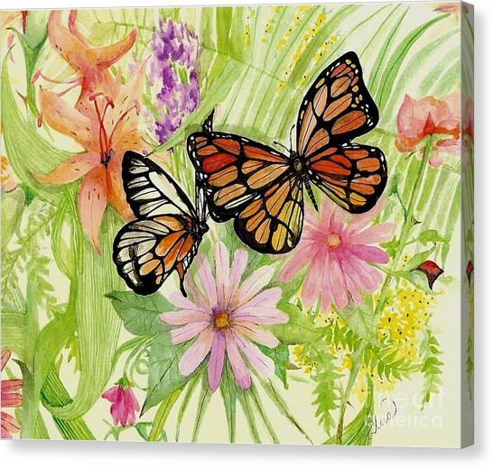 Spring Fancy Canvas Print by Laneea Tolley