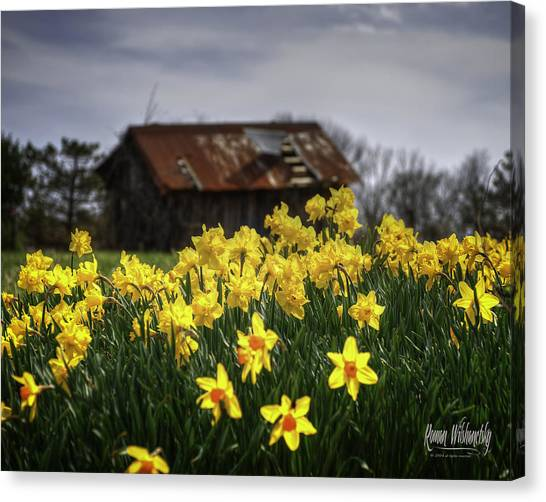 Spring Finally Canvas Print