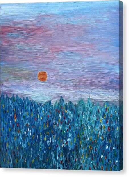 Spring Glimpse Canvas Print