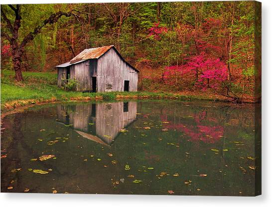 Spring Has Come To The Appalachia Canvas Print