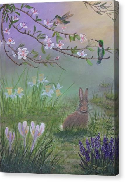 Spring Has Sprung Canvas Print
