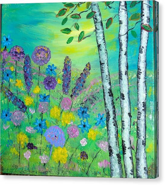 Spring Hillside Canvas Print