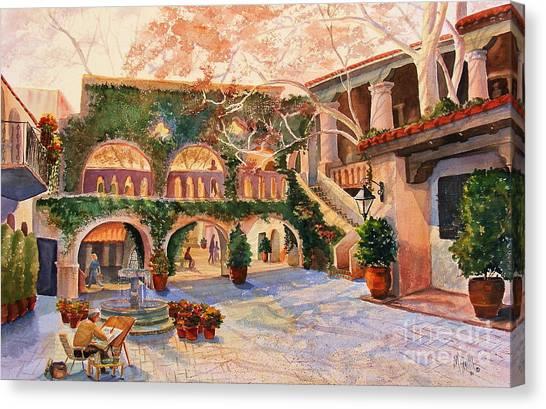 Spring In Tlaquepaque Canvas Print