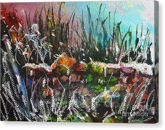 Spring Meltdown Canvas Print