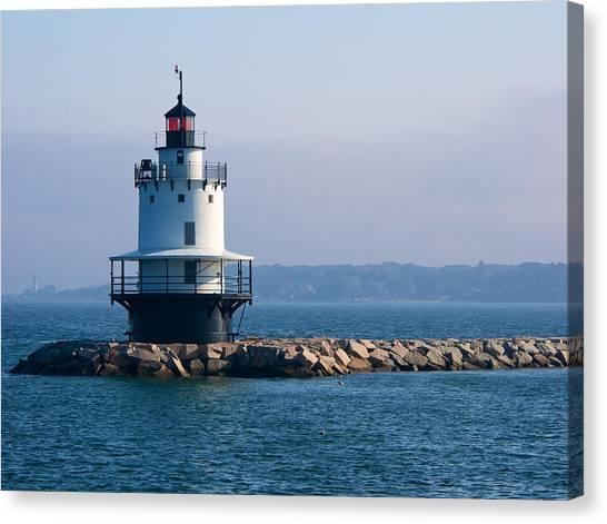Spring Point Lighthouse Canvas Print