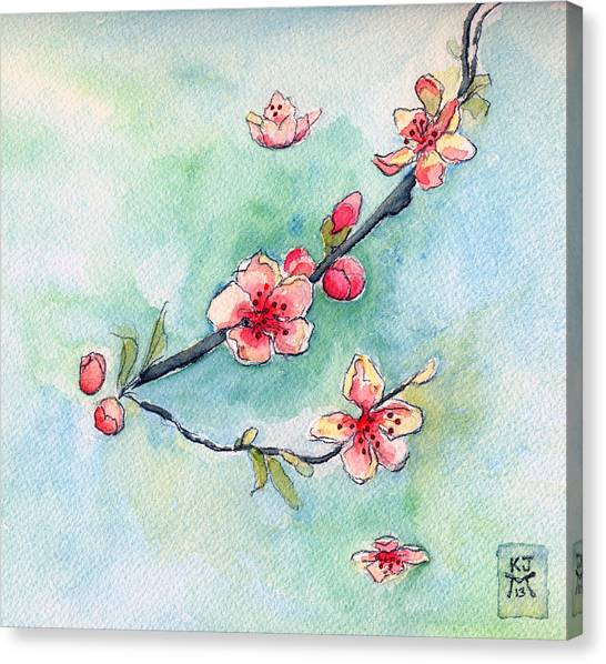 Spring Relief Canvas Print