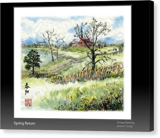 Spring Return Canvas Print