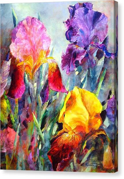 Spring Spectrum Canvas Print
