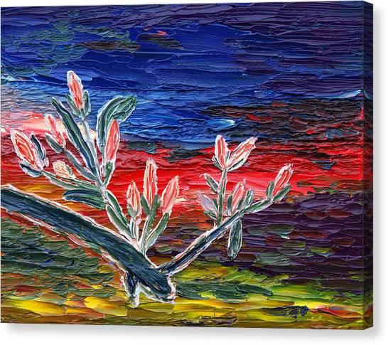 Spring Spirit Canvas Print by Vadim Levin