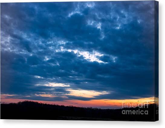 Spring Sunset Canvas Print