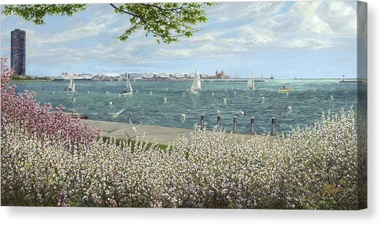 Instructions Canvas Print - Spring Tidings by Doug Kreuger