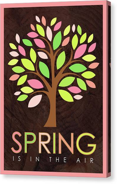 Spring Trees Canvas Print - Spring Tree by Tammy Apple