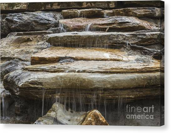 Spring Waterfall 2 Canvas Print
