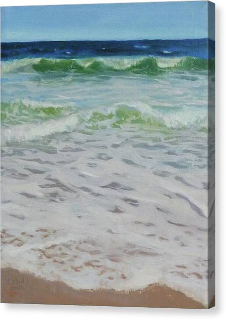 Spring Wave Canvas Print