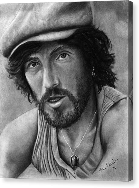 Springsteen Canvas Print