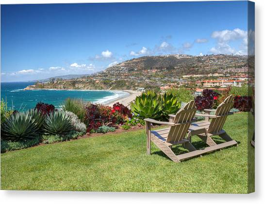 Springtime At Salt Creek Beach Canvas Print