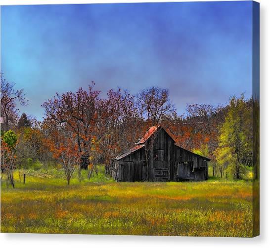 Springtime Sonora Barn Canvas Print