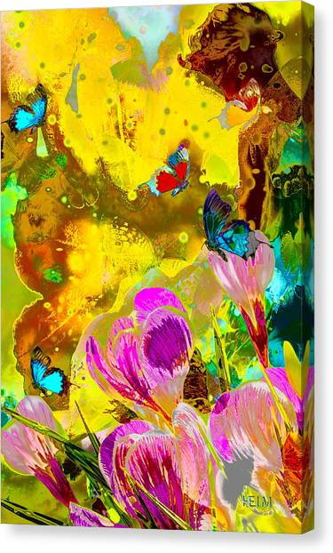 Springtime Splash Canvas Print