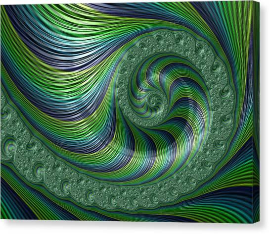 Spriral Bliss Canvas Print