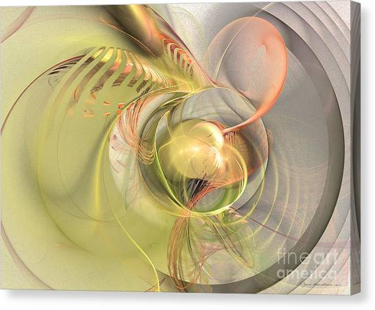 Sprouting Up Canvas Print