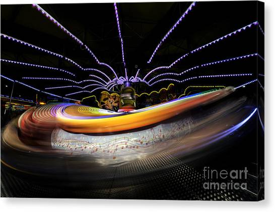 Spun Out 2 Canvas Print